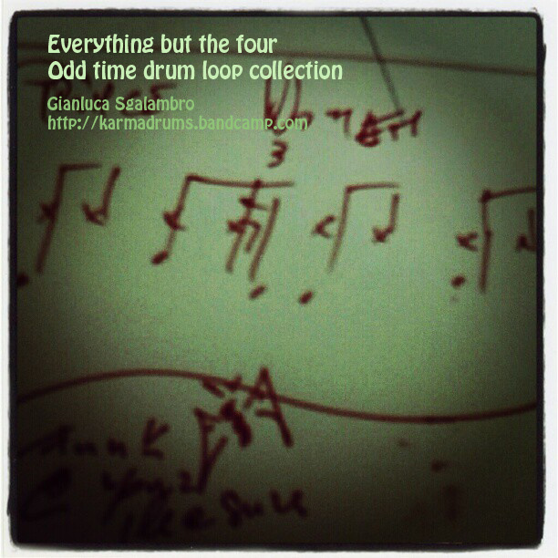 everything but the four odd time drum loop collection
